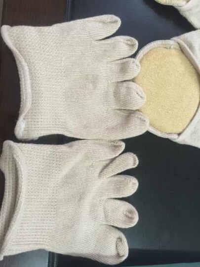 jSC隐形五指袜子女款棉浅口半掌隐形袜女士夏季高跟鞋袜子 肤色-露指半掌护垫隐形袜 晒单图