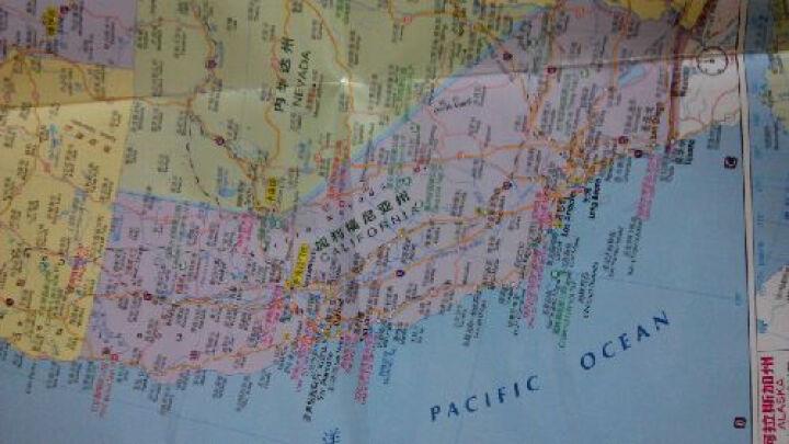 美国旅游地图(中英文对照)--一贯的好品质