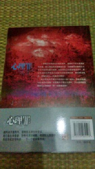 心理罪:暗河+画像+教化场+城市之光(京东套装全4册) 晒单图