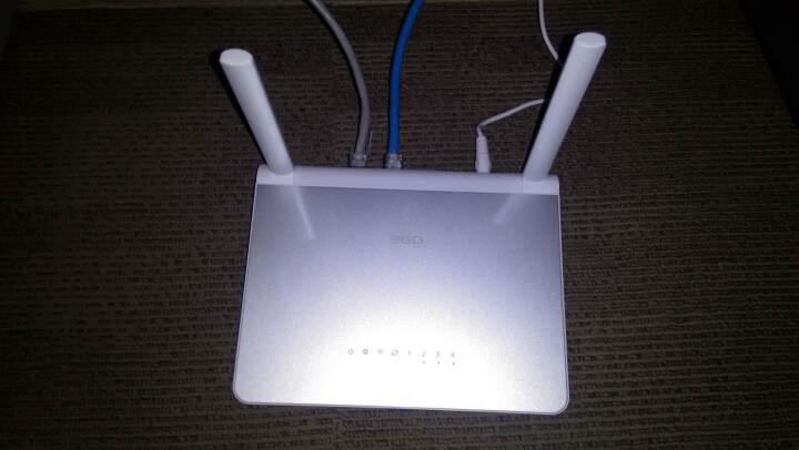 360安全路由P2 1200M双频四天线智能无线路由器 wifi信号放大 光纤宽带大户型穿墙路由 晒单图
