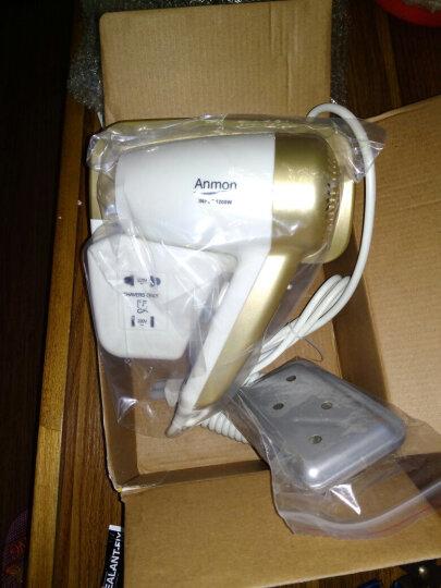 Anmon酒店挂壁吹风机 宾馆壁挂式电吹风机家用浴室干发器 上海迪斯尼酒店冷热款 晒单图