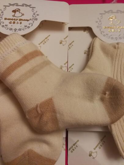 巴蒂小羊BanttySheep新生儿婴幼儿宝宝袜子男女儿童袜纯棉富氧有机棉加厚款秋冬新品 5双装 两种花色随机 1-3岁 晒单图