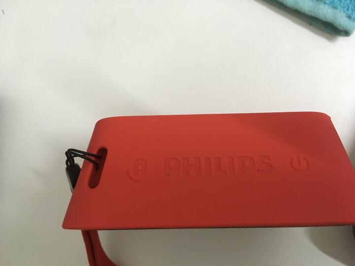 飞利浦(PHILIPS)BT110B 音乐魔盒 蓝牙音箱 防水便携迷你音响 手机/电脑外响 低音炮 户外运动 免提通话 黑色 晒单图