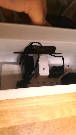 惠尔金HJ-208排插收纳盒电线收纳盒整理线盒桌面笔记本电源线插座插线板拖线板集线盒 晒单图