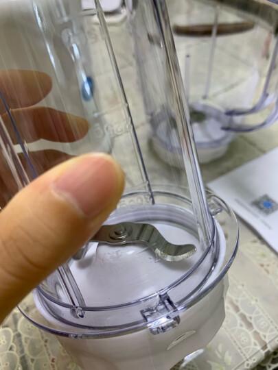 美的(Midea)料理机家用 多功能双杯榨汁机可果汁搅拌研磨辅食WBL25B26 晒单图