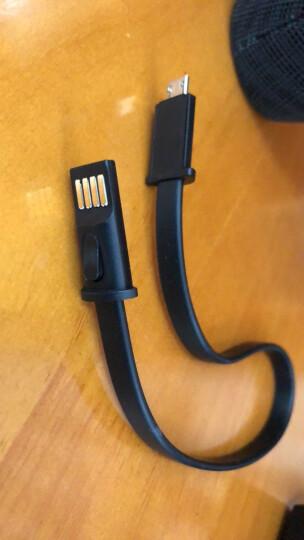飞利浦(PHILIPS)BT6900B 音乐小号角 防水蓝牙音箱 户外便携迷你音响 电脑桌面布艺低音炮 免提通话 黑色 晒单图