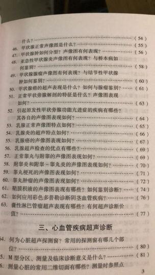 超声科主治医生450问(第2版) 晒单图