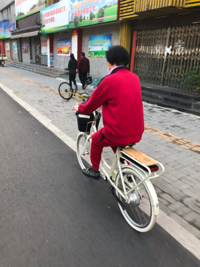 Benelli 贝纳利智能电动车24寸时尚助力自行车自动变速锂电池36V助力代步车 24寸LINTE整车定金100元 晒单图