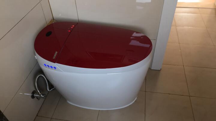 希箭/HOROW 智能马桶一体机座便器即热式无水箱全自动冲洗烘干坐便器 S4液晶显示屏升级坐圈 脚感冲水400坑距 晒单图