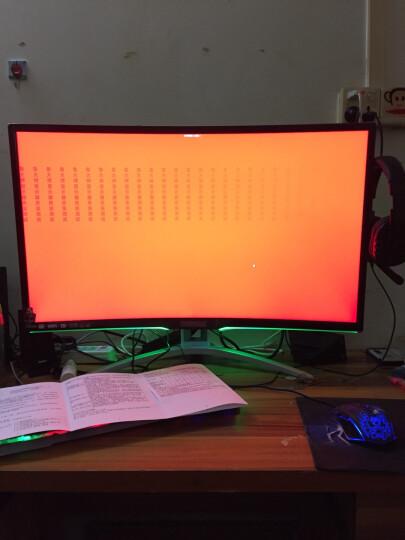 AOC AGON 爱攻II AG322FCX 31.5英寸 144Hz刷新 1800R曲率 FreeSync技术 吃鸡 游戏电竞曲面显示器 绝地求生 晒单图