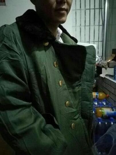 科乐士(Choreusy)棉大衣冬季加厚长款棉大衣女劳保棉袄棉服保安防寒服 军绿【棕绒可拆】 大号(适合140-190斤的穿) 晒单图