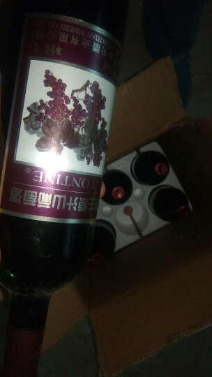 【京津快速达】通天野生原汁山甜红葡萄酒 7度 6支装 晒单图