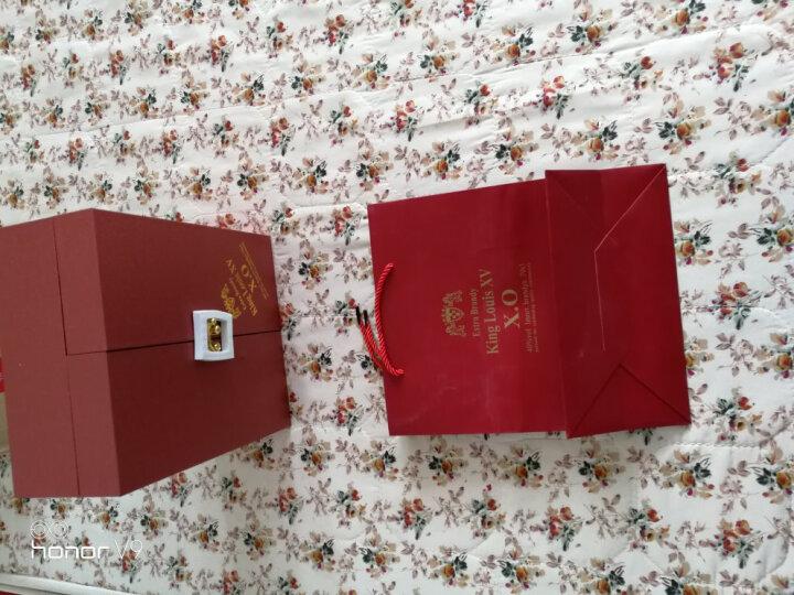 【送洋酒酒具套装】法国原瓶进口XO 珍藏级洋酒 白兰地 国王路易十五700ml礼盒套装 晒单图