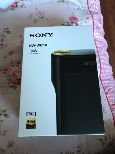 索尼(SONY)NW-WM1A MP3无损音乐播放器 高解析度Walkman 黑砖 晒单图