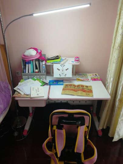 童姿星 儿童学习桌椅套装 可升降写字桌小孩作业桌小学生写字台儿童书桌可升降桌椅组合 纠姿学习桌椅 粉色桌子+椅子【长1.1米】 晒单图