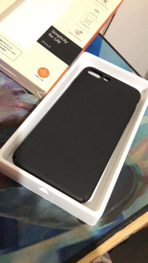 图拉斯 苹果8/7手机壳iPhone7 Plus保护壳全包防摔磨砂硬外壳手机套女薄男透明 5.5英寸-玫瑰金 晒单图