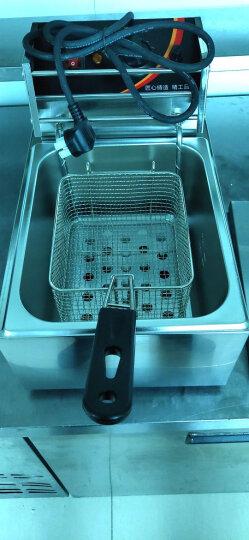 德玛仕(DEMASHI) 电炸炉商用 小吃油炸锅油炸机 油条机 薯条机 电炸锅 油炸炉 炸串机 单缸【10升】L-101C 晒单图