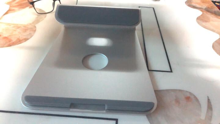 Brateck铝合金笔记本支架散热器 苹果MacBook小米通用型笔记本电脑显示器支架 颈椎桌面床上11-15.6英寸 AR-1 晒单图