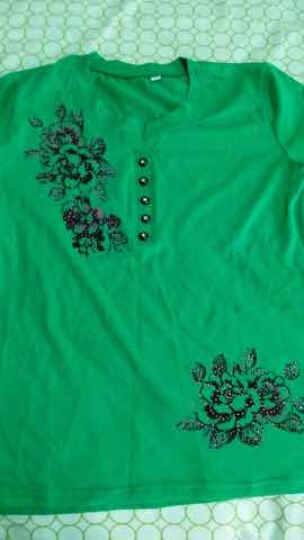 Pca 新款中老年女装秋装外套气质妈妈装风衣中年女士丝质中长款外衣 621156 宝蓝 2XL(建议130-140斤) 晒单图