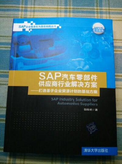 SAP汽车零部件供应商行业解决方案:打造基于企业资源计划的基础方案(SAP企业信息化 晒单图