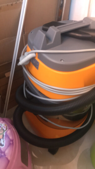 BF500吸尘器干湿两用吸尘吸水机15L家用吸尘机颜色随机 晒单图