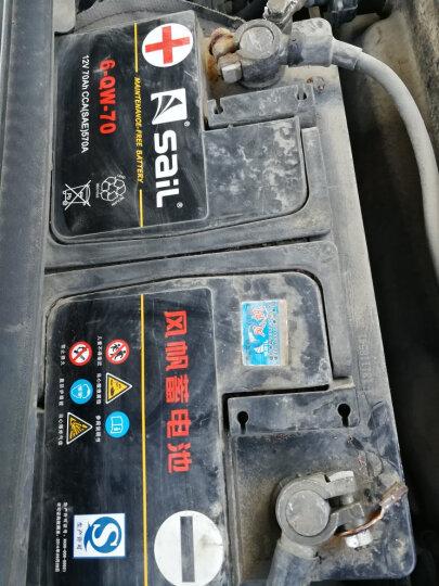 风帆SAIL蓄电池旗舰店 6-QW-70 全免维护12V70AH汽车电瓶市区内免费上门安装 配送安装-旧电瓶收回 沃尔沃C30/S40/S60/V40 晒单图