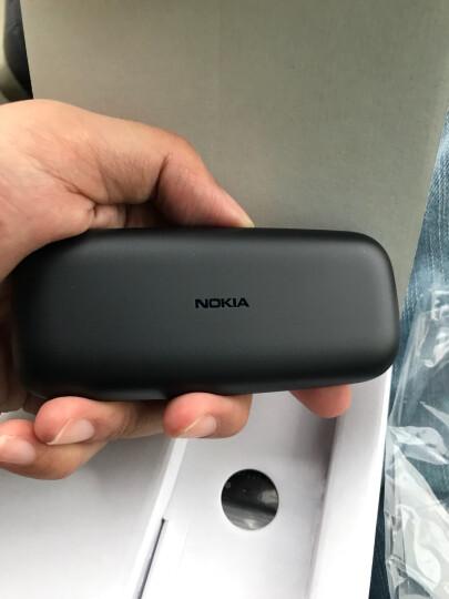 新诺基亚(NOKIA)105 黑色 直板按键 移动联通2G手机 老人手机 学生备用功能机 晒单图