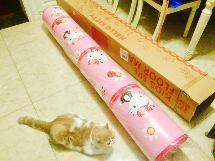 明德 Hello kitty凯蒂猫 加厚宝宝爬行垫 环保EPE防滑地垫 婴儿爬爬垫泡沫垫180*200*2cm 向阳花KT-W612001 晒单图