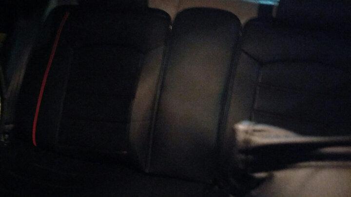 靓展汽车坐垫四季通用全包冬季皮革座垫别克凯越君威英朗大众速腾迈腾帕萨特捷达朗逸汽车座套坐套 神秘黑 晒单图