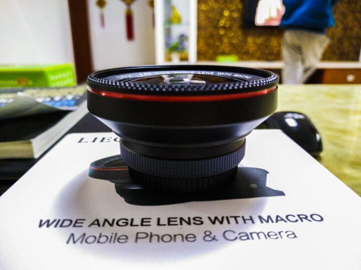 猎奇(LIEQI)LQ-025手机镜头 抗畸变广角微距套装 苹果华为外置摄像头 自拍照相镜头 玫瑰金 晒单图