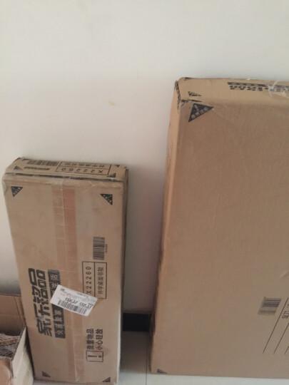 家乐铭品 书架井字桌面60款 架子书桌电脑桌架子收纳架 暖白色 X22260 晒单图