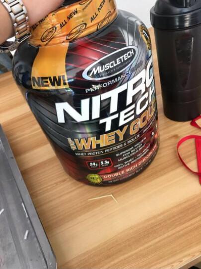 肌肉科技(MUSCLETECH) 肌肉科技增肌粉乳清蛋白粉增重增肥健身增肌 正氮蛋白粉4磅+肌酸400g 晒单图