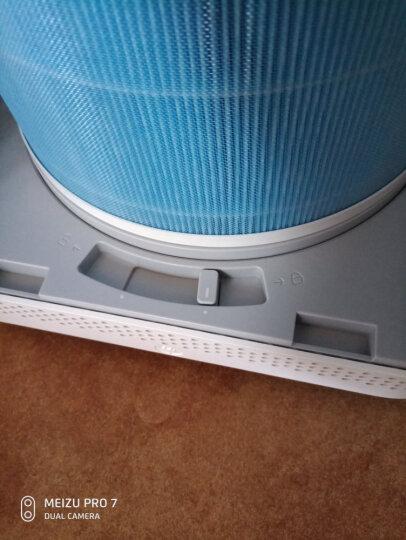 米家(MIJIA)小米车载空气净化器 过滤 PM2.5 颗粒物 静音模式 双风机循环气流  晒单图