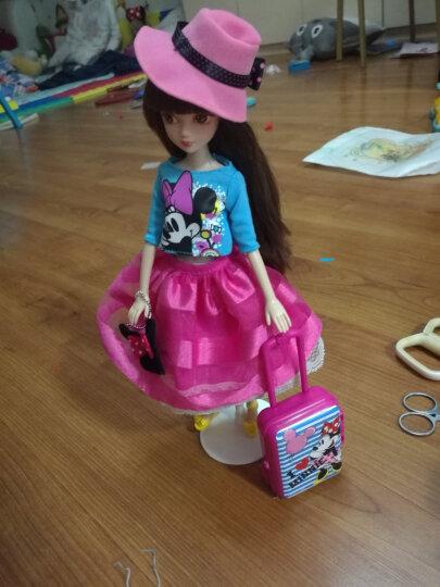 可儿娃娃(KURHN)迪士尼授权系列 经典米妮 时尚换装 娃娃换装礼盒套装 女孩玩具生日礼物 10关节体 6133-1 晒单图