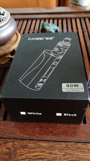 易星X3电子烟80W大烟雾蒸汽烟戒烟器 克莱鹏mini戒烟产品 珍珠白套装 晒单图