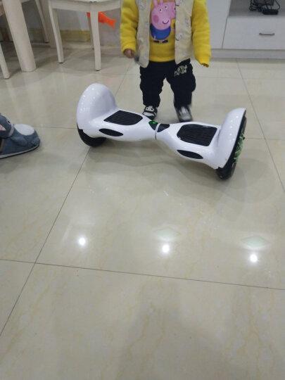 铠美尔 7/10寸大轮成人儿童智能平衡车两轮双轮体感电动思维车自平衡扭扭漂移车 10吋大轮款珍珠白 自平衡 蓝牙音乐 LED双灯 顶配电机(10-极限35公里) 晒单图