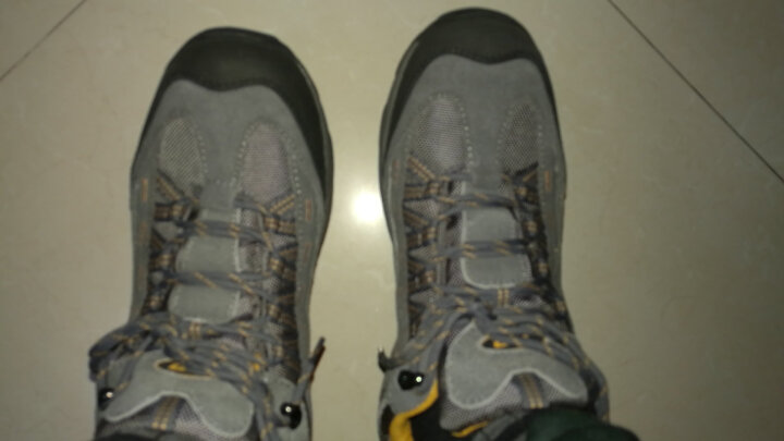 TFO美国 徒步鞋 防水耐滑户外鞋 登山鞋男女 女款深灰 37 晒单图