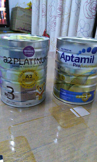 新西兰进口 a2 Platinum 白金版婴幼儿奶粉 3段(1-3岁) 900g/罐 晒单图