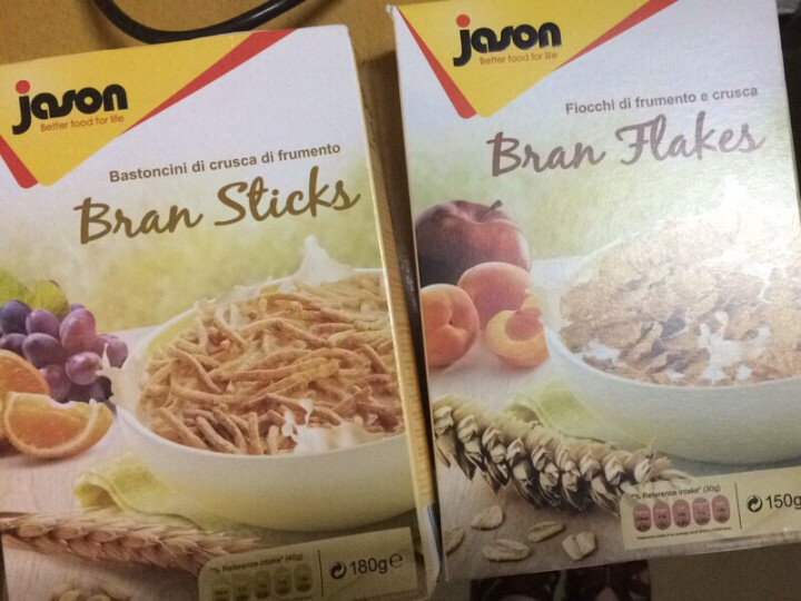 意大利进口捷森Jason即食冲饮谷物牛奶冲泡早餐儿童休闲零食坚果燕麦片 蜂蜜麦圈150g 晒单图