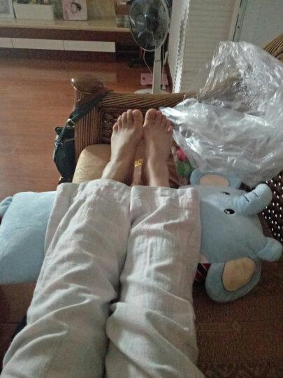 小笨熊   兔子抱枕公仔大象毛绒可爱懒人睡觉长条抱枕可拆洗可爱女孩玩具儿童枕头 条纹棕熊 105*25厘米双人枕 可拆洗 枕芯枕套可分开 晒单图