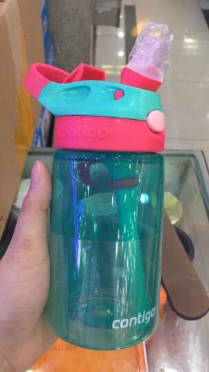 美国康迪克Contigo水杯户外运动随手杯儿童吸管杯便携水杯密封防漏  三件套 成人红绿紫蓝颜色随机发 709ml 3个装 晒单图
