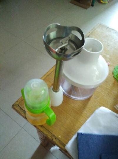 客来美(climax) HA-3091料理机多功能家用手持绞肉搅拌机宝宝辅食机婴儿料理棒 草绿色 晒单图