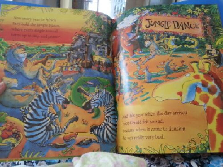 Giraffes Can't Dance 长颈鹿不会跳舞 英文原版 晒单图