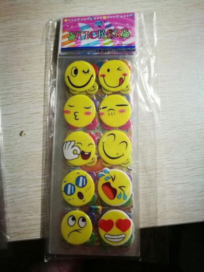 满庄韩版幼儿童卡通贴纸 立体奖励贴画粘贴泡泡贴粘纸 数字 字母 形状 动物 C34 晒单图