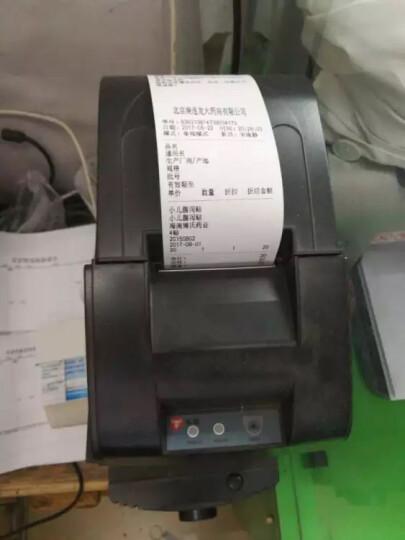 浩顺(Hysoon)57*50mm热敏收银纸超市 厨打小票 票据打印纸(30卷) 晒单图