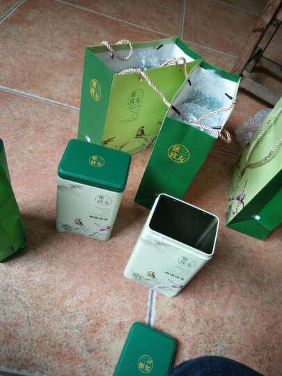 高山云雾绿茶 茶叶春茶散装新茶礼盒装毛尖日照绿茶雪青崂山绿茶 500g罐装配手提袋 晒单图
