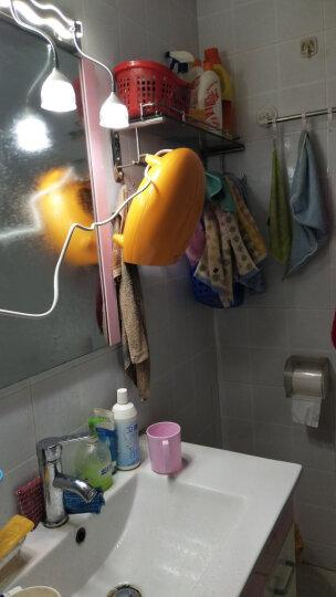 格力(GREE) 暖风机家用取暖器浴室壁挂防水婴儿电暖气办公室暖脚器NBFB-20-WG 活力橙 晒单图