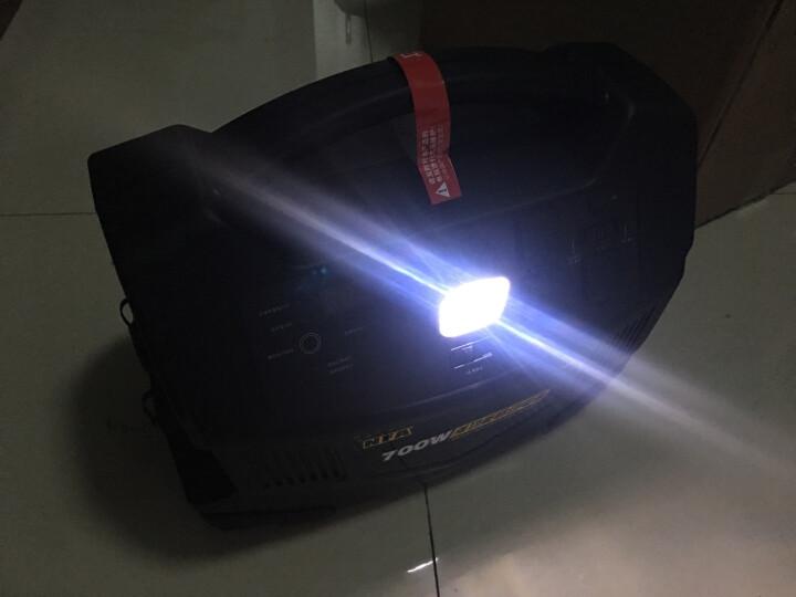 纽福克斯(NFA)汽车应急启动电源 车用700W多功能熔接机户外野营移动电源 引擎启动打火 逆变器 8605N/700w电源配汽车轮胎充气泵 晒单图