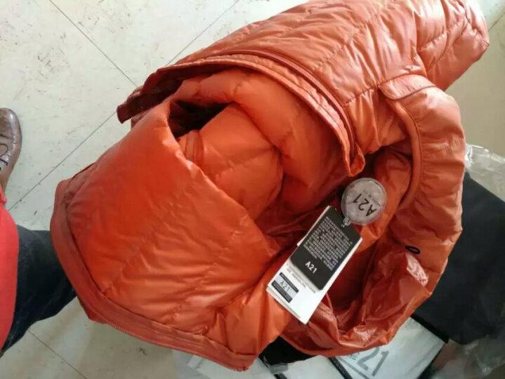 以纯线上品牌A21 秋冬新款轻暖羽绒服男可脱卸帽羽绒外套4631153011VP 中灰 175/88A(L) 晒单图