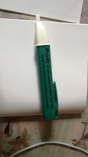 宝工(Pro'sKit)NT-306 非接触验电笔试电笔感应测电笔 晒单图